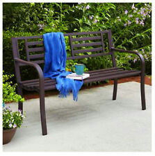 "50"", Brown, Steel Park Bench, Brown Steel Frame IP-D1812B, 174853"