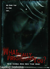 What Really Frightens You? (DVD, 2010, Unrated, Widescreen) Patrick Flynne