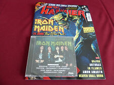 IRON MAIDEN COVER GERMAN METAL HAMMER MAGAZINE WITH EXCLUSIVE TRIBUTE CD