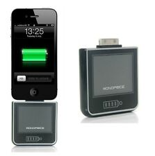 Monoprice 2200mAh External Backup Battery Charger for iPhone 3 3GS 4 4S 4G,