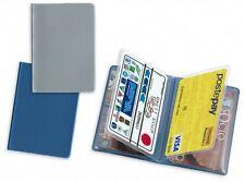 Porta carte di credito card 4 tasche materiale PVC cm 9,4 x 6,7  COMODISSIMO