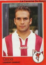 N°074 LAURENT CHARVET # FRANCE AS.CANNES STICKER FOOT 97 PANINI