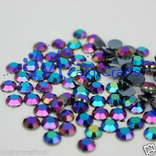 500pcs Black AB 5mm ss20 Flat Back Shiny Taiwan Acrylic Rhinestones Craft Gems