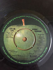 THE BEATLES GEORGE HARRISON MISS O'DELL/GIVE ME LOVE RARE SINGLE 45 INDIA EX