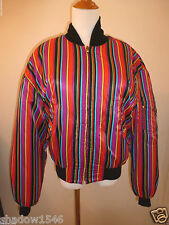 Versus by Gianni Versace Men's Nylon Reversible Bomber Jacket Size 34 (48 Euro)