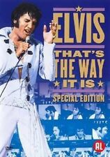 ELVIS PRESLEY: THAT'S THE WAY IT IS - Special Edition DVD -PAL Region 2 -Sealed