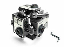 360 degree Spherical Panorama Frame Mount f. 6x GoPro HERO 3, 3+, 4  3D Zubehör