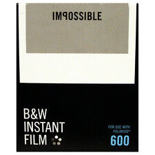Impossible 600 Type BLACK AND WHITE Instant Film - NEW VERSION