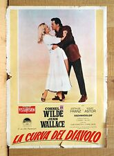 LA CURVA DEL DIAVOLO fotobusta poster The Devil's Hairpin Wilde Wallace Astor