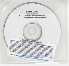 (GN995) Fool's Gold, Surprise Hotel - DJ CD
