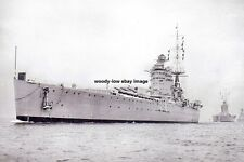 rp14292 - Royal Navy Warship - HMS Nelson , built 1927 - photo 6x4