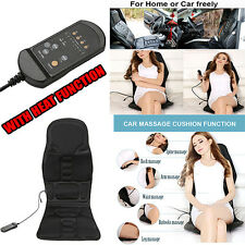 Professional Electric Massage Chair Cushion Heating Massage Car Home Office Van