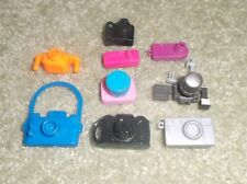 BARBIE KEN DOLL HOUSE CLOTHES ACCESSORIES - 12 ASSORTED CAMERAS