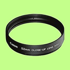 Genuine Canon 52mm Close-up Lens 500D filter