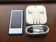 Apple iPod Nano 7th Generation Gen (16 GB) Blue New