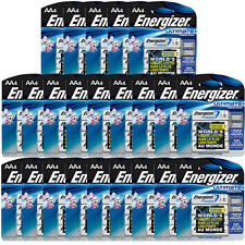 100 x Energizer Ultimate Lithium AA Batteries (25 x 4-Pack) L91BP-4 Exp2036