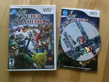 Super Smash Bros Brawl Wii Mario + Pikachu + Sonic NTSC USA