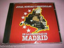 JOTAS, RONDAS Y SEGUIDILLAS DE LA COMUNIDAD DE MADRID - CD PRECINTADO - CAMPIÑA