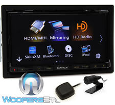 "KENWOOD DDX9703S IN-DASH 2-DIN 6.95"" TV CD DVD BLUETOOTH USB PANDORA HD RADIO"