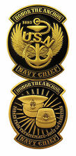"U.S. Navy Chiefs - USN ""Honor the Anchor"" - Challenge Coin 3077"