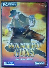 WANTED GUNS PC CD-ROM WILD WEST SHOOTER GAME brand new & sealed UK