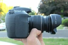 MINT Canon EOS 60D 18.0 MP SLR with 18-55mm IS Lens (2 LENS). FREESHIPPING!