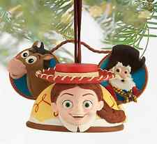 Disney Parks Jessie Cowgirl Toy Story Resin Ear Hat Ornament