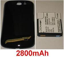 Coque + Batterie 2800mAh type EB-L1H9KLA Pour Samsung GT-I8730T