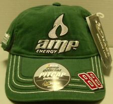 Dale Earnhardt Jr  # 88 Amp Energy Racing Chase Authentic's Pit Hat - Free Ship