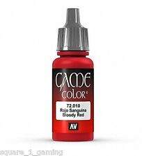 VALLEJO GAME COLOR 72010 BLOODY RED 17ML