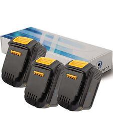 Lot de 3 batteries 14.4V 3000mAh pour Dewalt DCD735C  - Société Française -