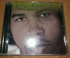 I C GREEN  ---  MUSIC REVOLUTION  ---  RARE INDIE R&B CD ALBUM