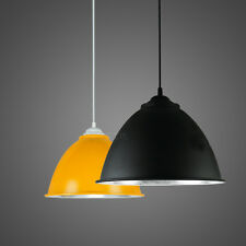 Modern Industrial Hanging Ceiling Light Pendant Lamp Colors Fixture Chandeliers