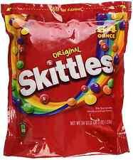 Skittles Original Fruit Red Bag 54 oz Bulk Candy Vending for only$14.99 FREE S/H