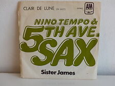 NINO TEMPO & 5TH AVE SAX Clair de lune Sister James 8E00694862 Pressage Portugal