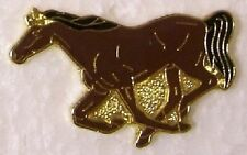 Hat Lapel Pin Scarf Clasp Animal Horse Running NEW