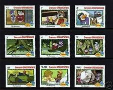 GRENADA - 1982 - DISNEY- THE RESCUERS - MINT - MNH - SET OF 9!