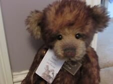 """Charlie Bears Isabelle Lee Retired, Limited Edition """"Nuzzle"""" 16"""" Mohair Bear"""