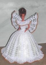 CROCHET FASHION DOLL PATTERN-ICS DESIGNS-499 ANGEL FAITH