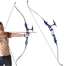 """66"""" Archery Takedown Recurve Bows Sight 28# Right Hand Bow Hunting Practice"""