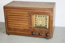1930'S EMERSON VINTAGE WOODEN RADIO - WITH INGRAHAM CABINET - ALL ORIGINAL!