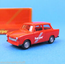 "Herpa H0 3086 TRABANT 601 S Limousine Rot ""Herpa"" DDR Pkw OVP HO 1:87"