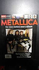 metallica the story behind every album heavy metal  magazine collectors edition
