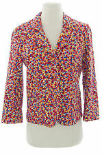 TOPSHOP Women's Multi-Color Printed Lined Jacket 17B10A US Size 2 NEW