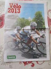 VELO : VELO ANNEE 2013 - CALENDRIERS - EQUIPES - RESULTATS - 21/02/2013