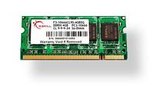 4GB G.Skill DDR3 PC3-12800 CL9 SQ Series single laptop memory module