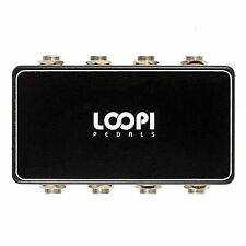 Guitar Pedal Pedalboard Patchbox - 4in/4out - Loopi Pedals