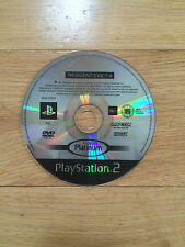 Resident Evil 4 (Platinum) for PS2 *Disc Only*