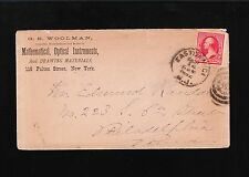 GS Woolman Mathematical Optical Instruments Drawing Material NY City Cover 6u