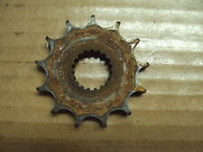 SUZUKI DR100 DR 100 MOTORCYCLE 13T SPROCKET 13 T TOOTH TEETH CHAIN GEAR